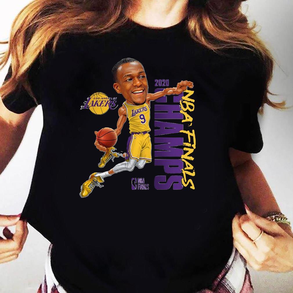 Rajon Rondo LA Lakers Champions 2020 T-Shirt Ladies tee