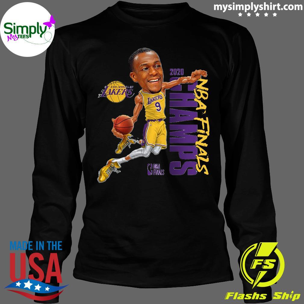 Rajon Rondo LA Lakers Champions 2020 T-Shirt Longsleeve