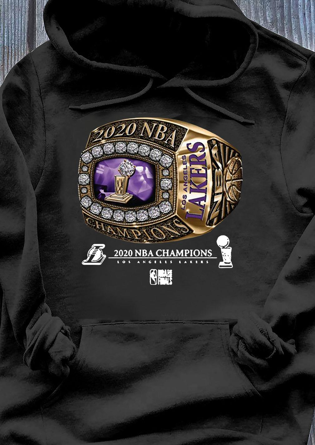Ring Los Angeles Lakers Champions 2020 Shirt, hoodie ...