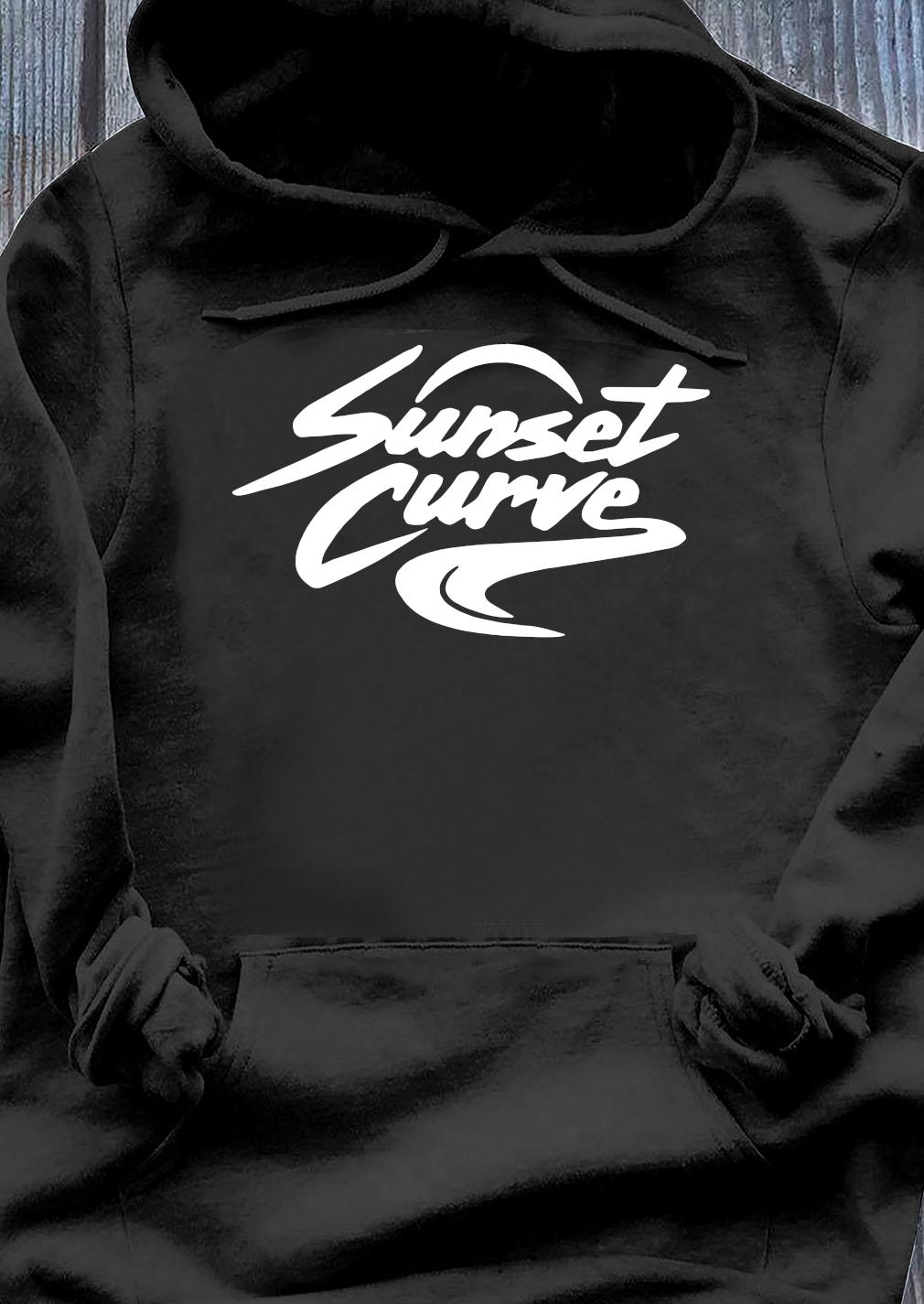 Sunset Curve Shirt Hoodie