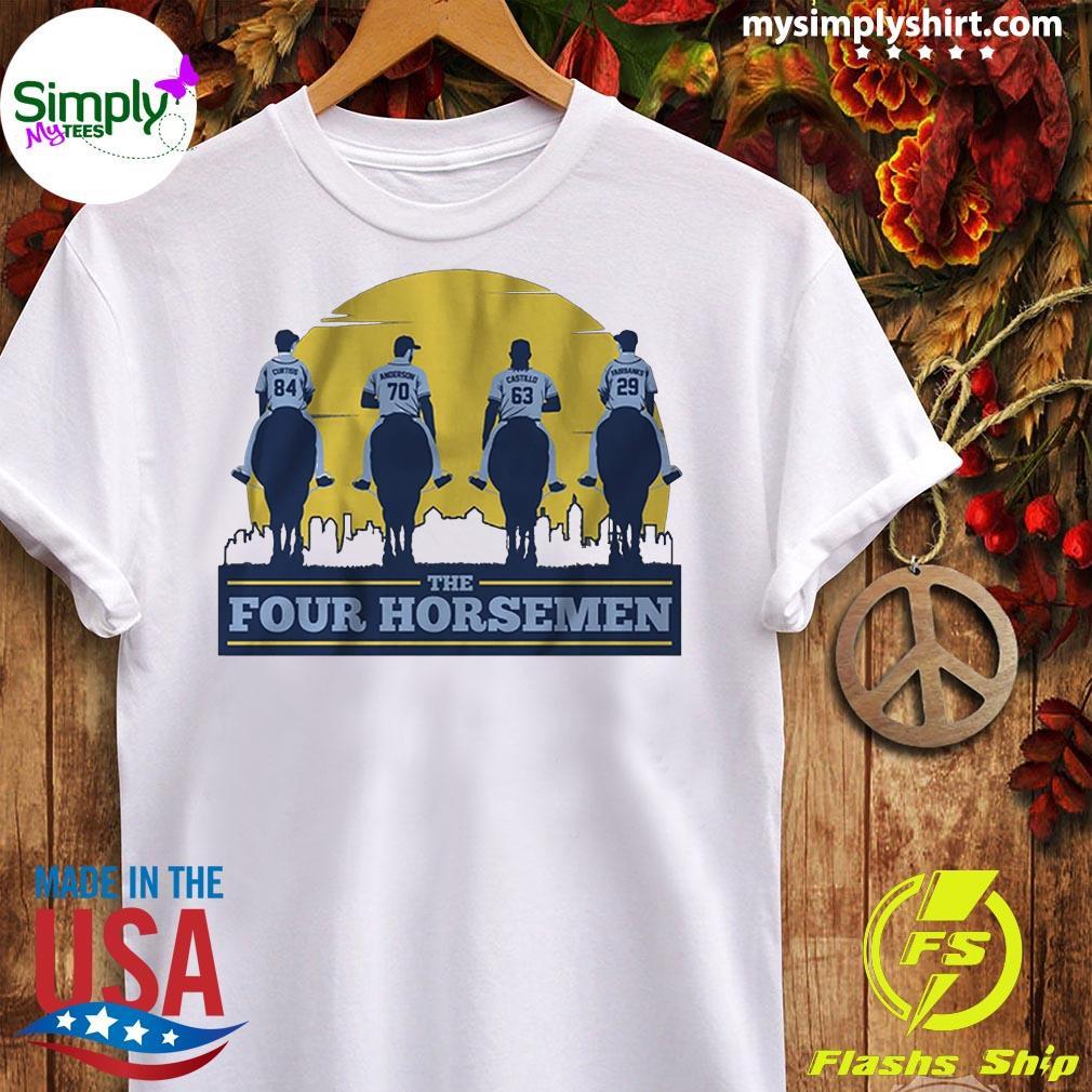 The Four Horsemen Tampa Bay Baseball Shirt Ladies tee