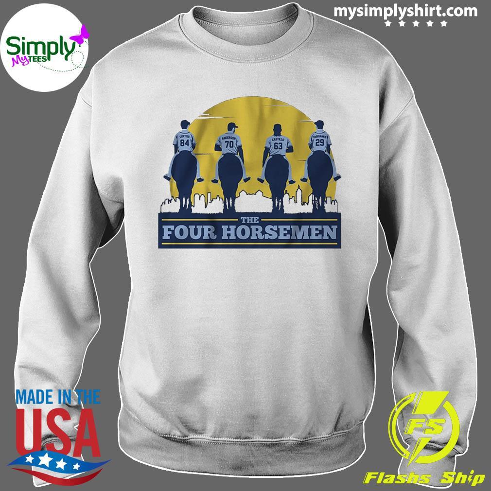The Four Horsemen Tampa Bay Baseball Shirt Sweater