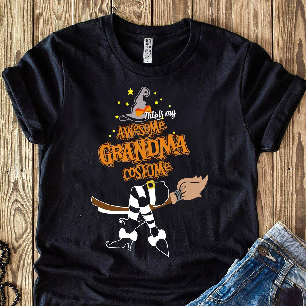 This Is My Awesome Grandma Costume Halloween Shirt