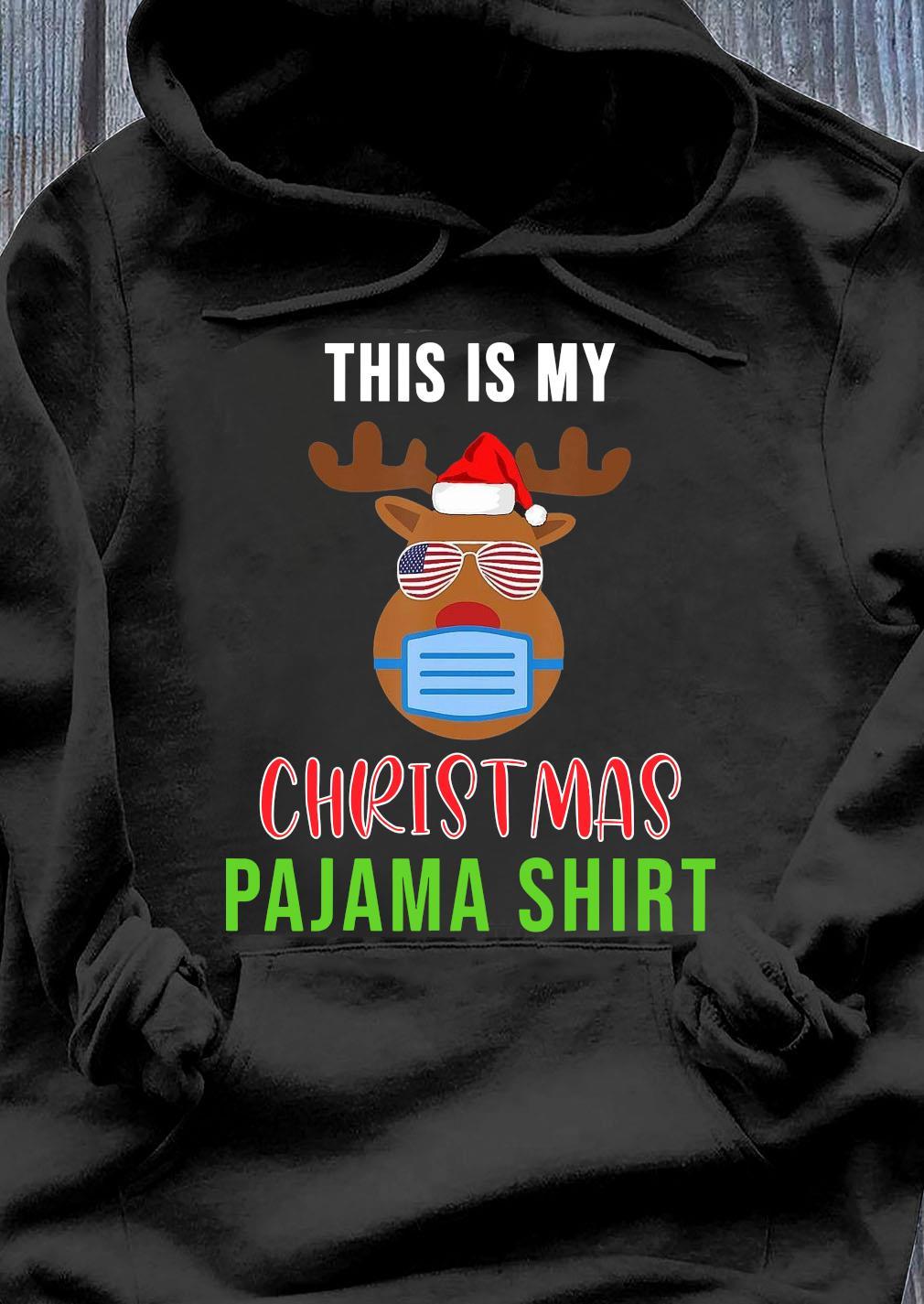 This Is My Christmas Pajama Shirt Hoodie