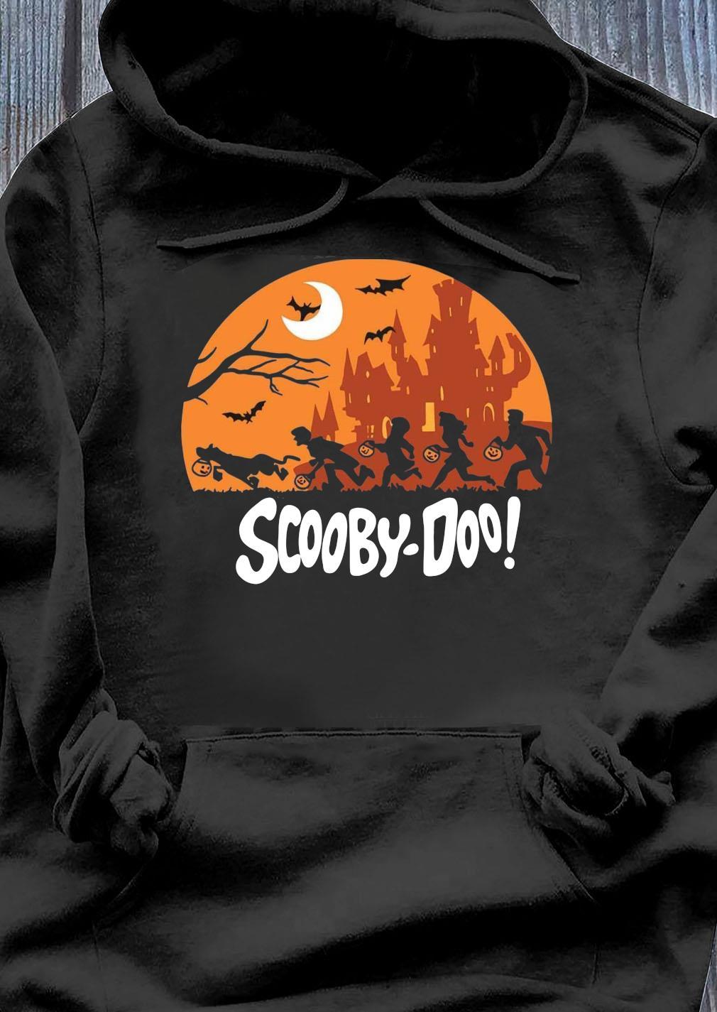 Trick Or Trek Scooby-Doo Halloween Shirt Hoodie