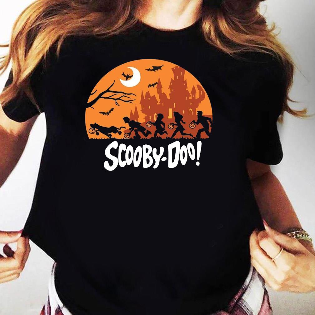 Trick Or Trek Scooby-Doo Halloween Shirt Ladies tee