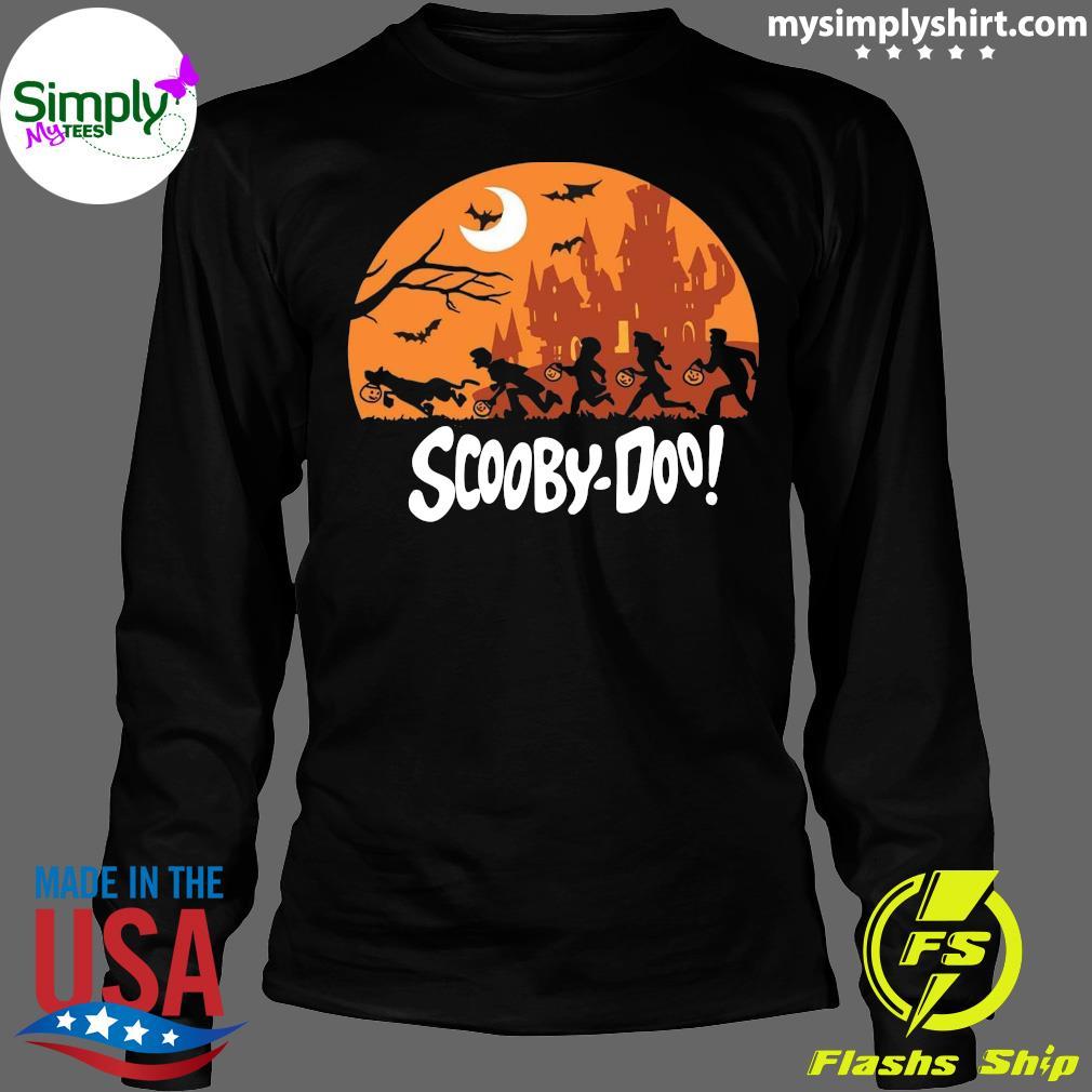 Trick Or Trek Scooby-Doo Halloween Shirt Longsleeve