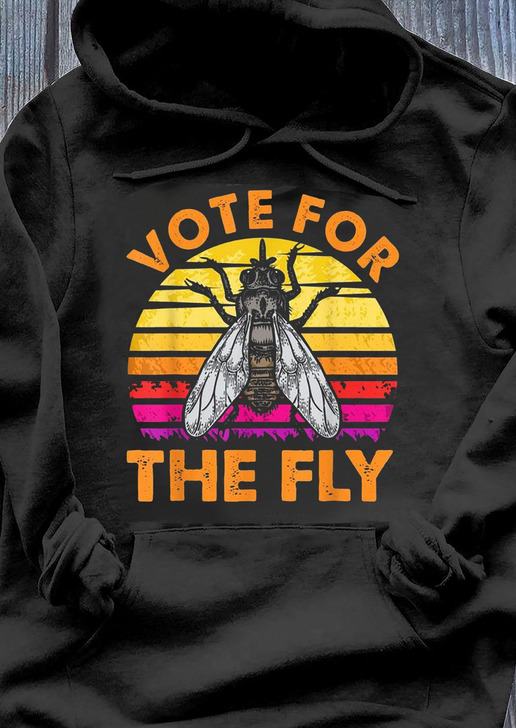 Vote For The Fly Trump 2020 Vintage Shirt Hoodie