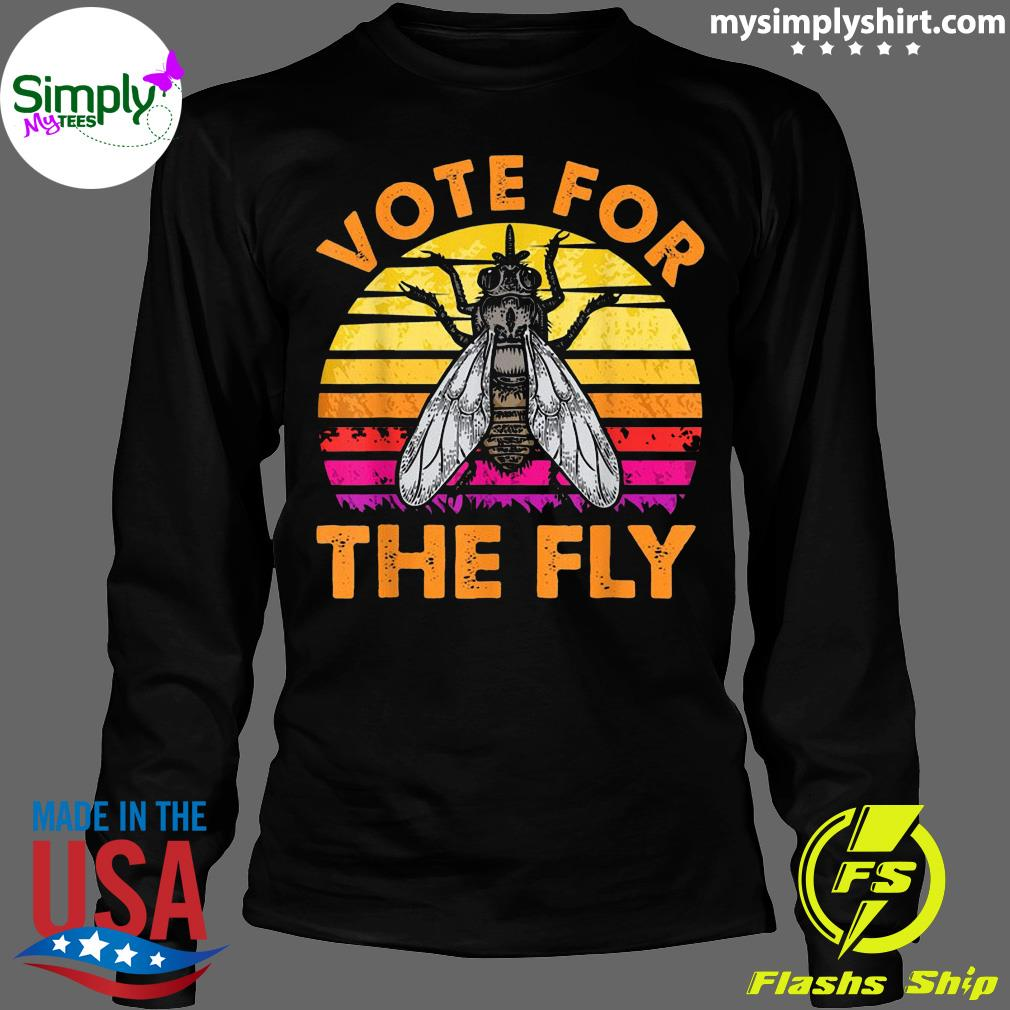 Vote For The Fly Trump 2020 Vintage Shirt Longsleeve