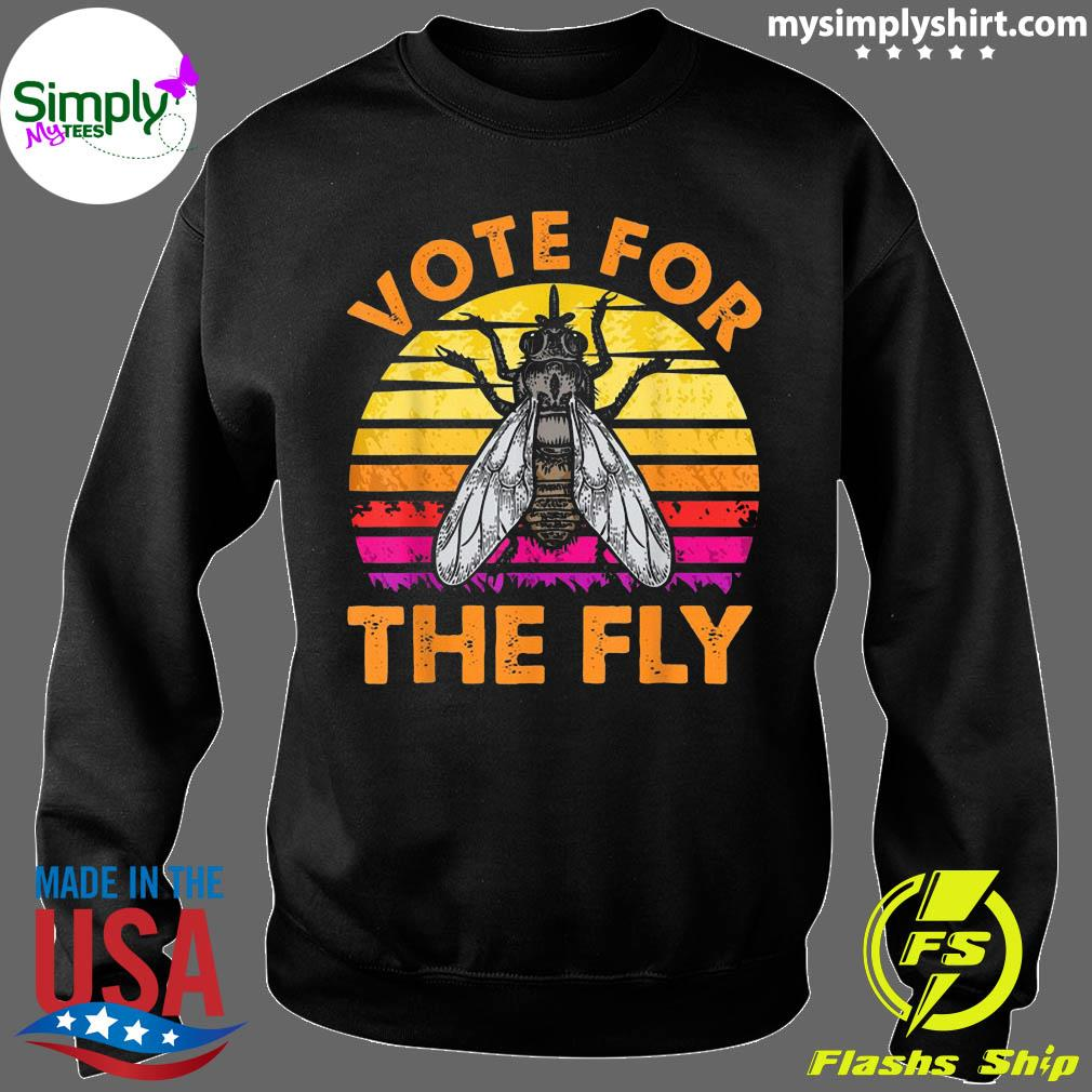Vote For The Fly Trump 2020 Vintage Shirt Sweater
