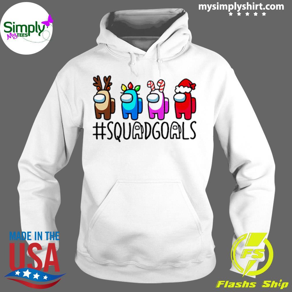 Among Us Squadgoals Christmas Sweater Hoodie