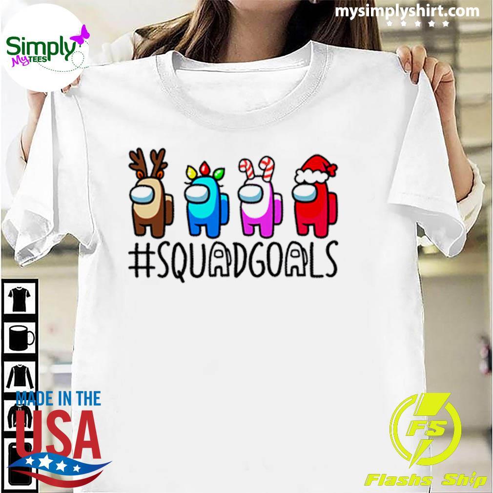 Among Us Squadgoals Christmas Sweater