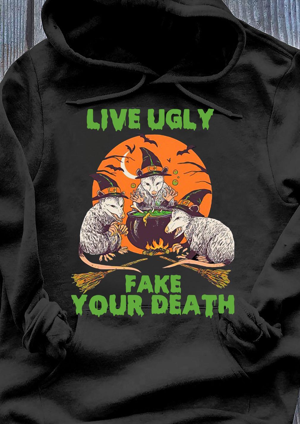 Animal Live Fake Your Death Shirt Hoodie