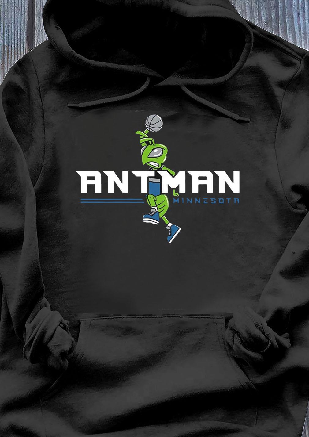 Ant Man Minnesota Basketball Shirt Hoodie