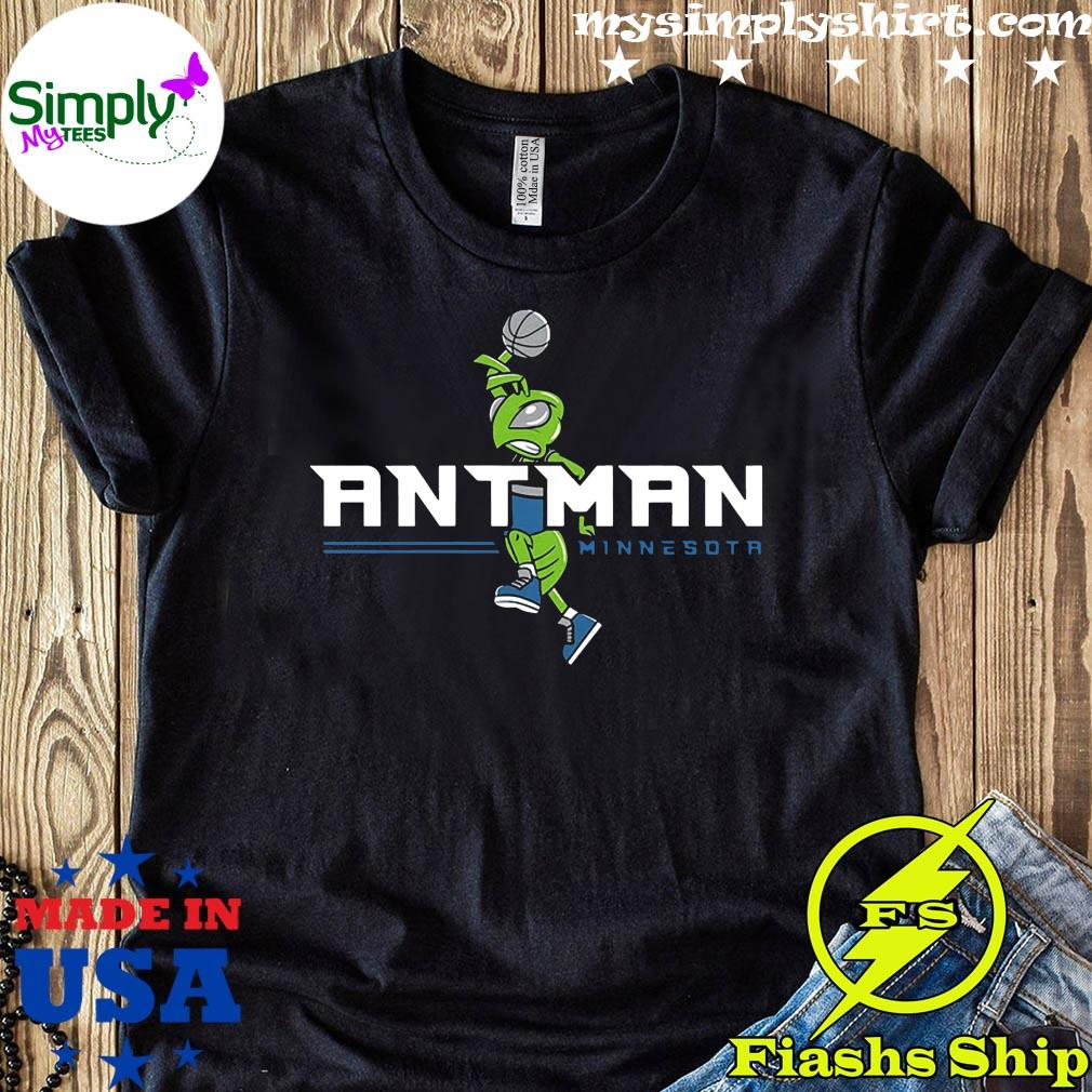 Ant Man Minnesota Basketball Shirt