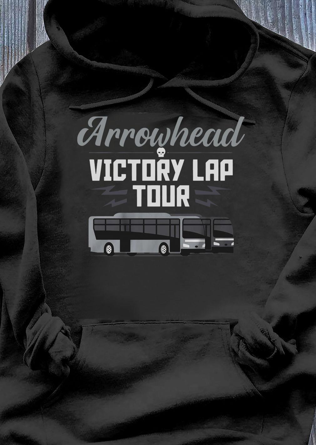 Arrowhead Victory Lap Tour Las Vegas Football Shirt Hoodie