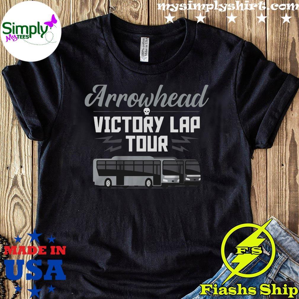 Arrowhead Victory Lap Tour Las Vegas Football Shirt