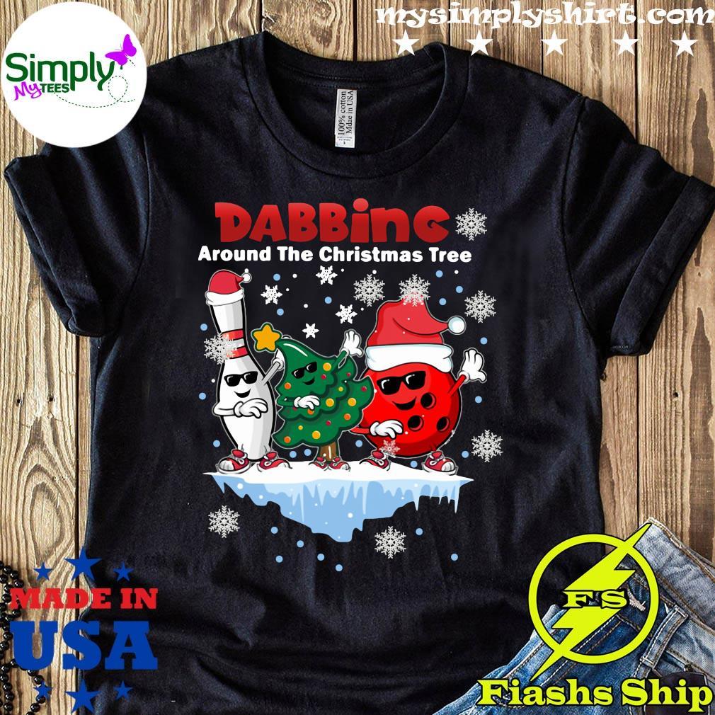 Boling Dabbing Around The Christmas Tree Shirt