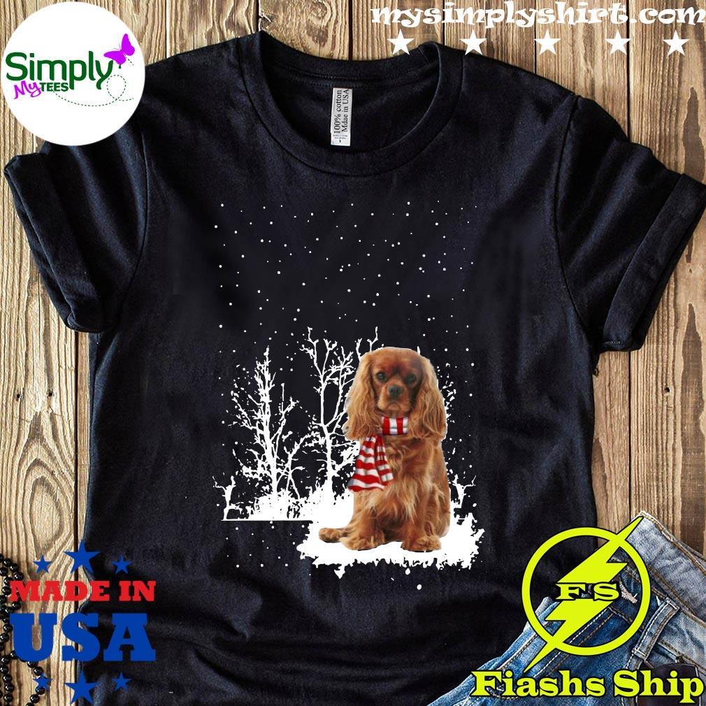 Cavalier King Charles Spaniel Merry Christmas Shirt