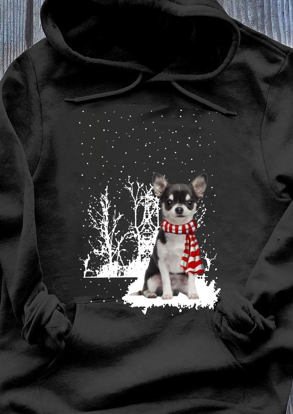 Chihuahua Merry Christmas Shirt Hoodie
