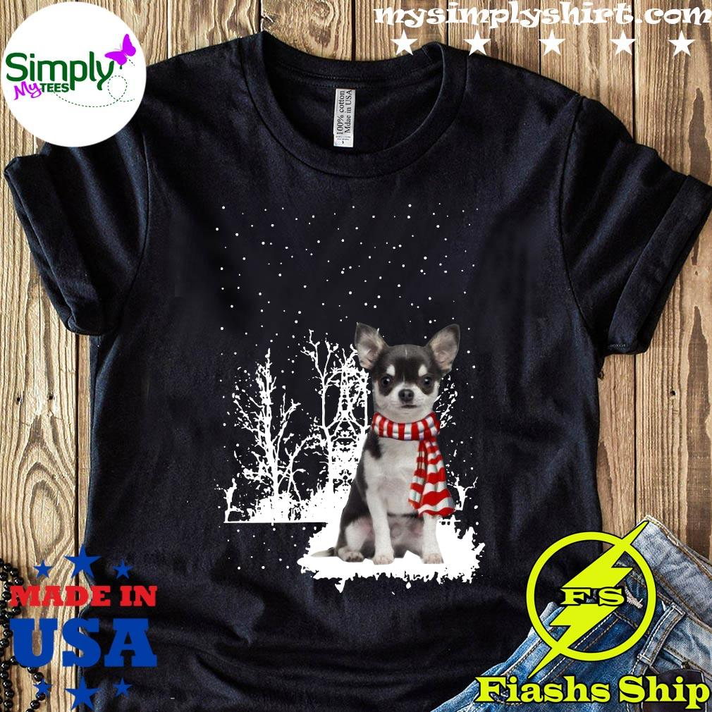 Chihuahua Merry Christmas Shirt