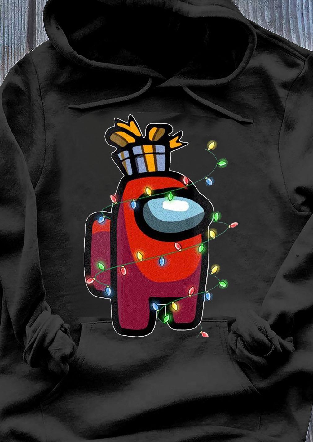 Christmas Santa Among Us Character Coffee X-mas 2020 Shirt Hoodie