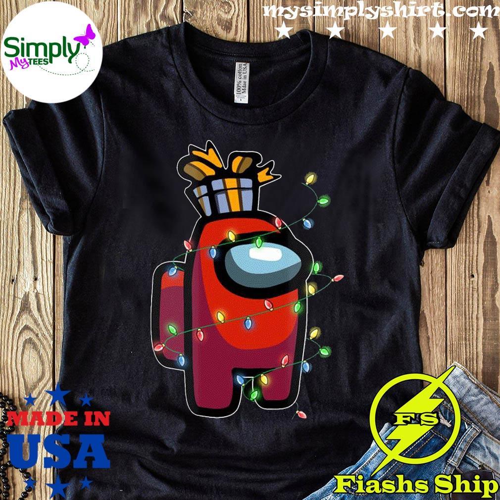 Christmas Santa Among Us Character Coffee X-mas 2020 Shirt
