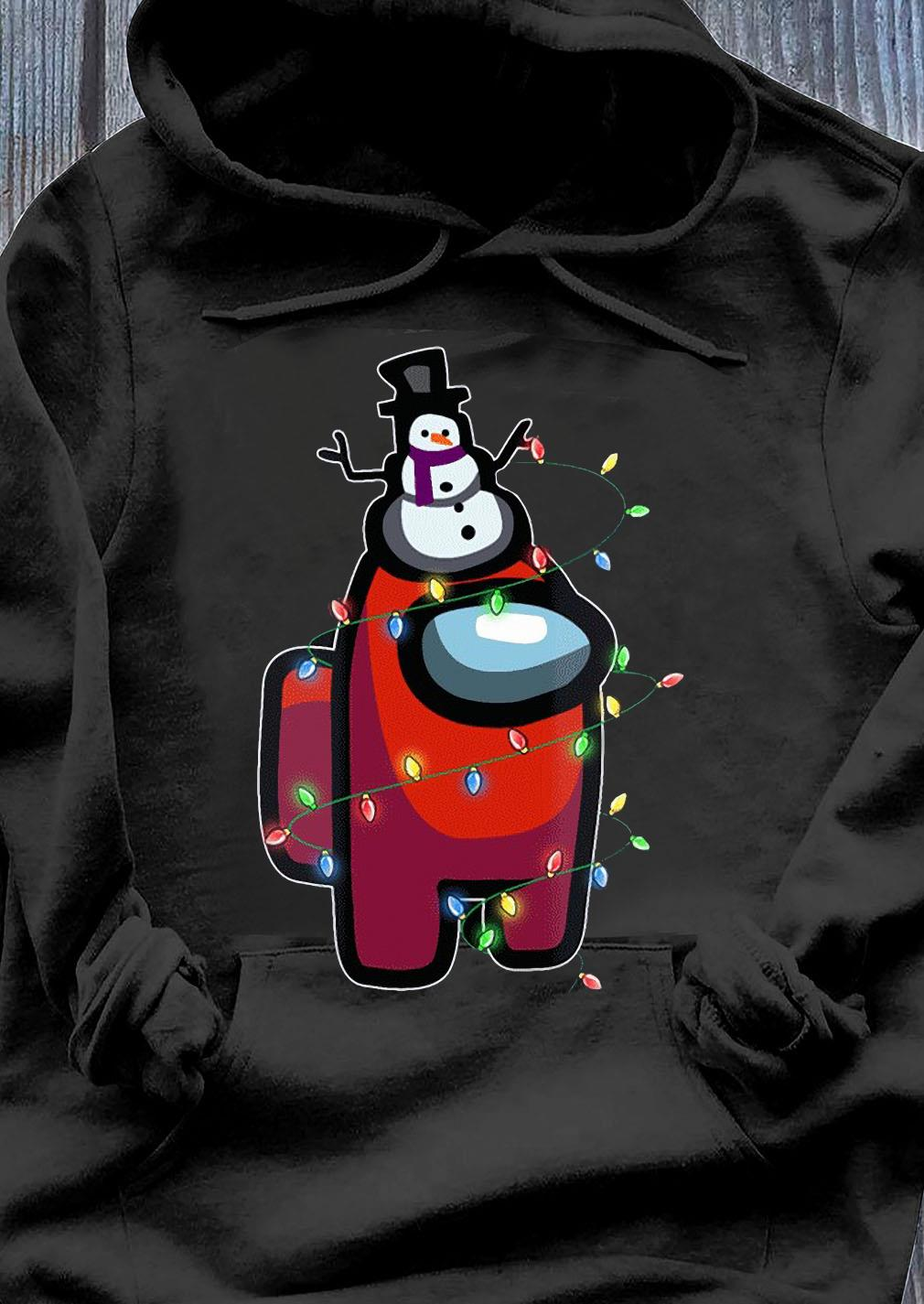 Christmas Santa Among Us Character Shirt Hoodie