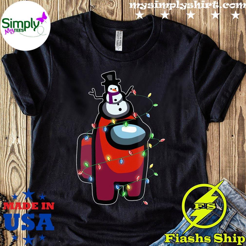 Christmas Santa Among Us Character Shirt