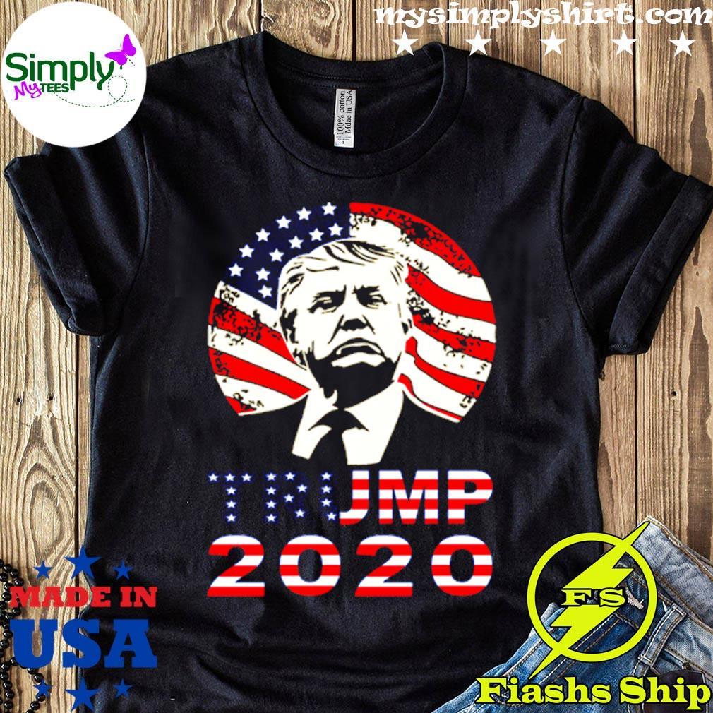 Donald Trump 2020 American Flag Shirt