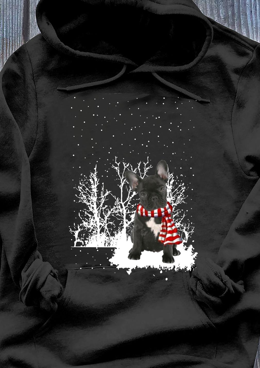 French Bulldog Merry Christmas Shirt Hoodie