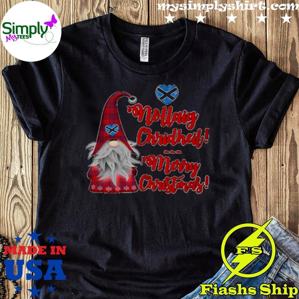 Gnome Nollaig Chridheil Merry Christmas Sweater