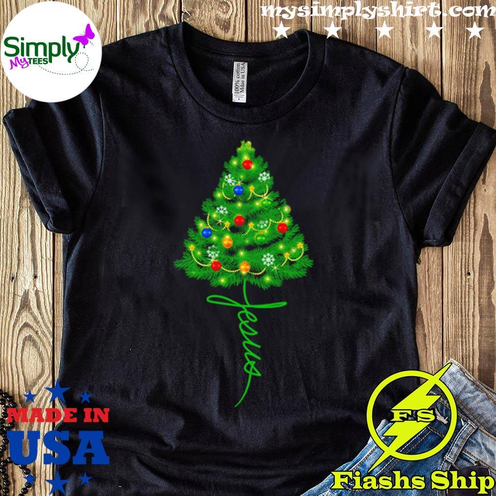 Jesus Christmas Tree Sweater