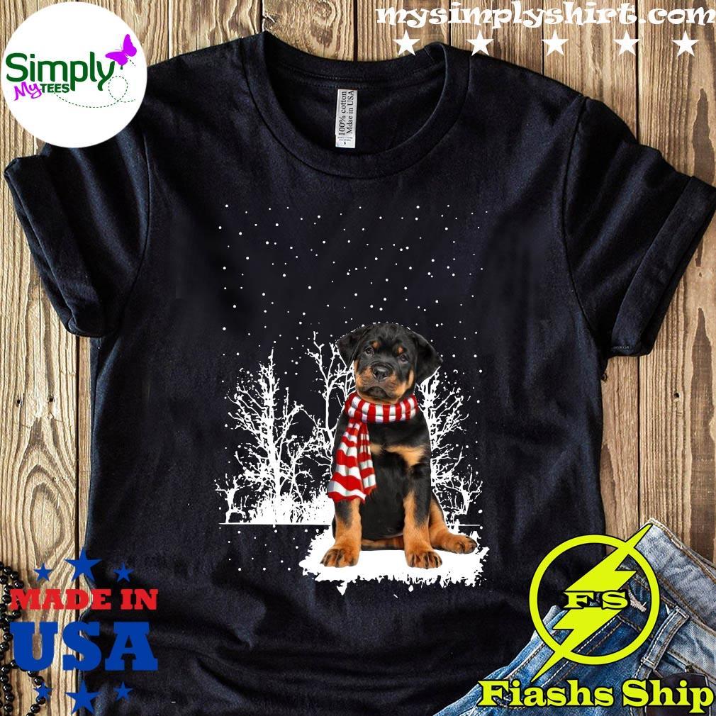 Rottweiler Merry Christmas Shirt