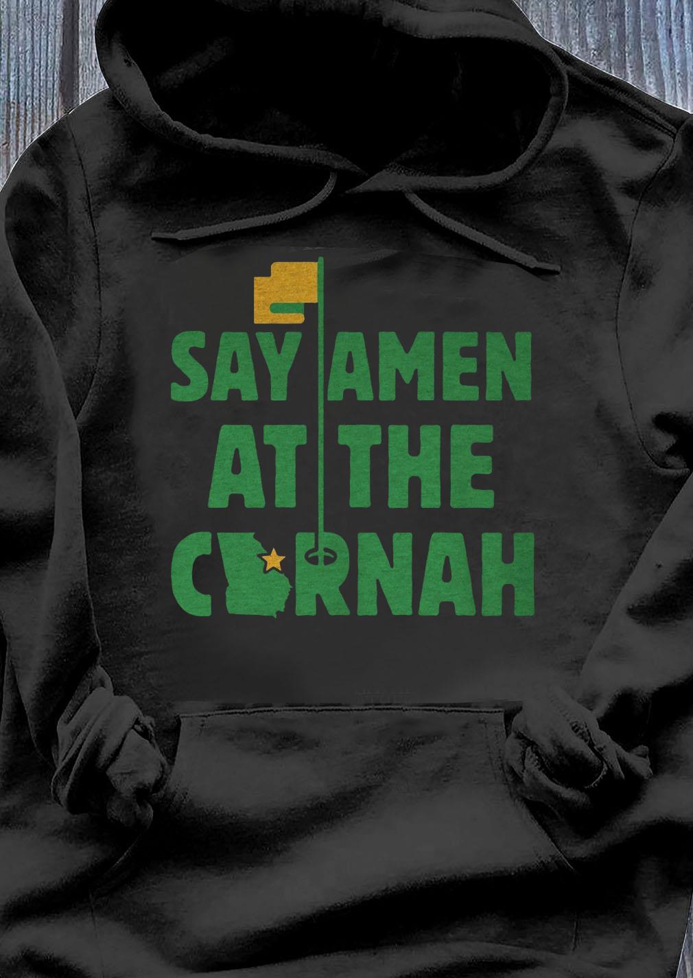 Say Amen At The Cornah Chris Vernon T-Shirt Hoodie