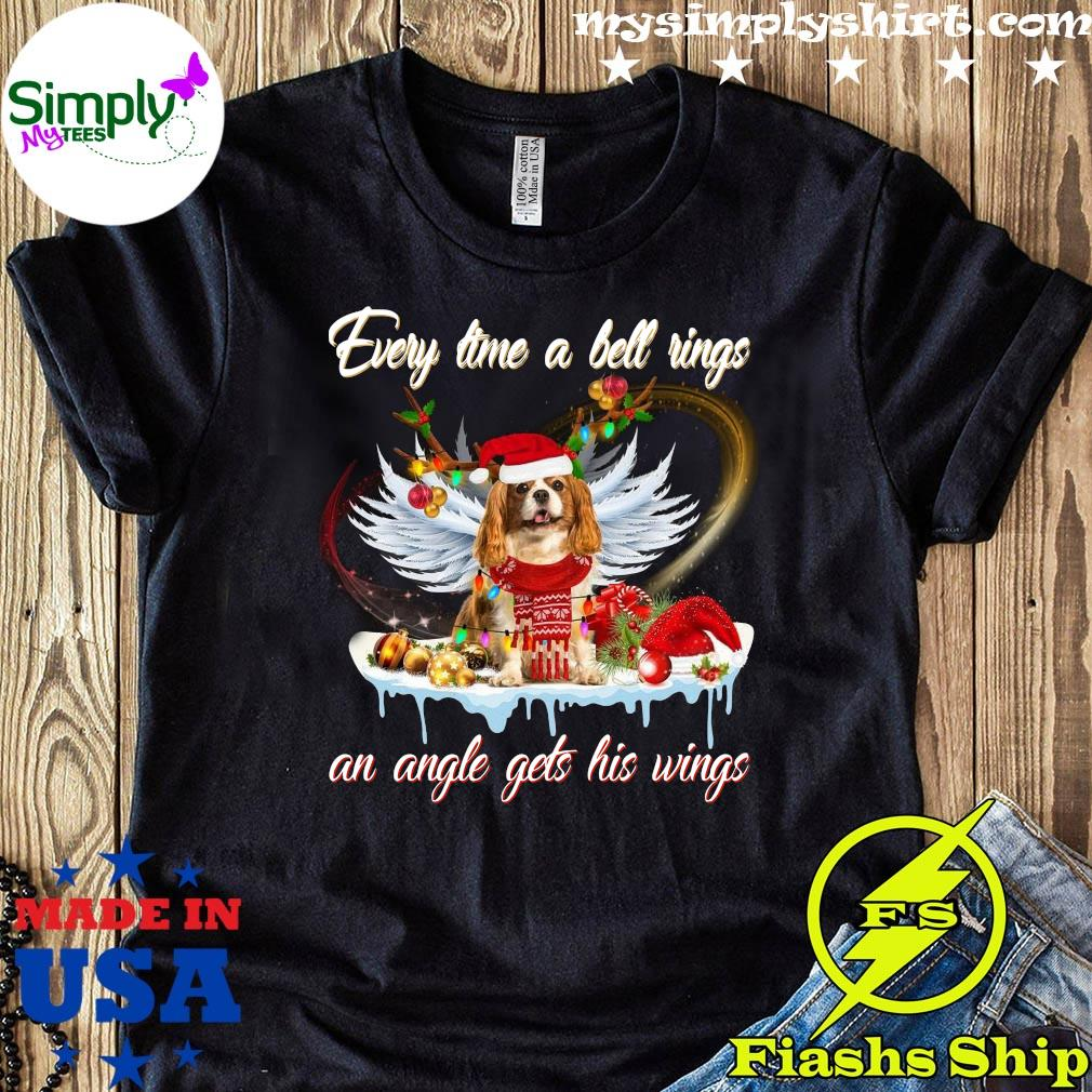Shih Tzu A Bell Rings An Angel Gets His Wings Shirt