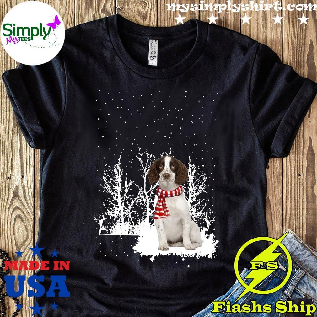 Springer Spaniel Merry Christmas Shirt