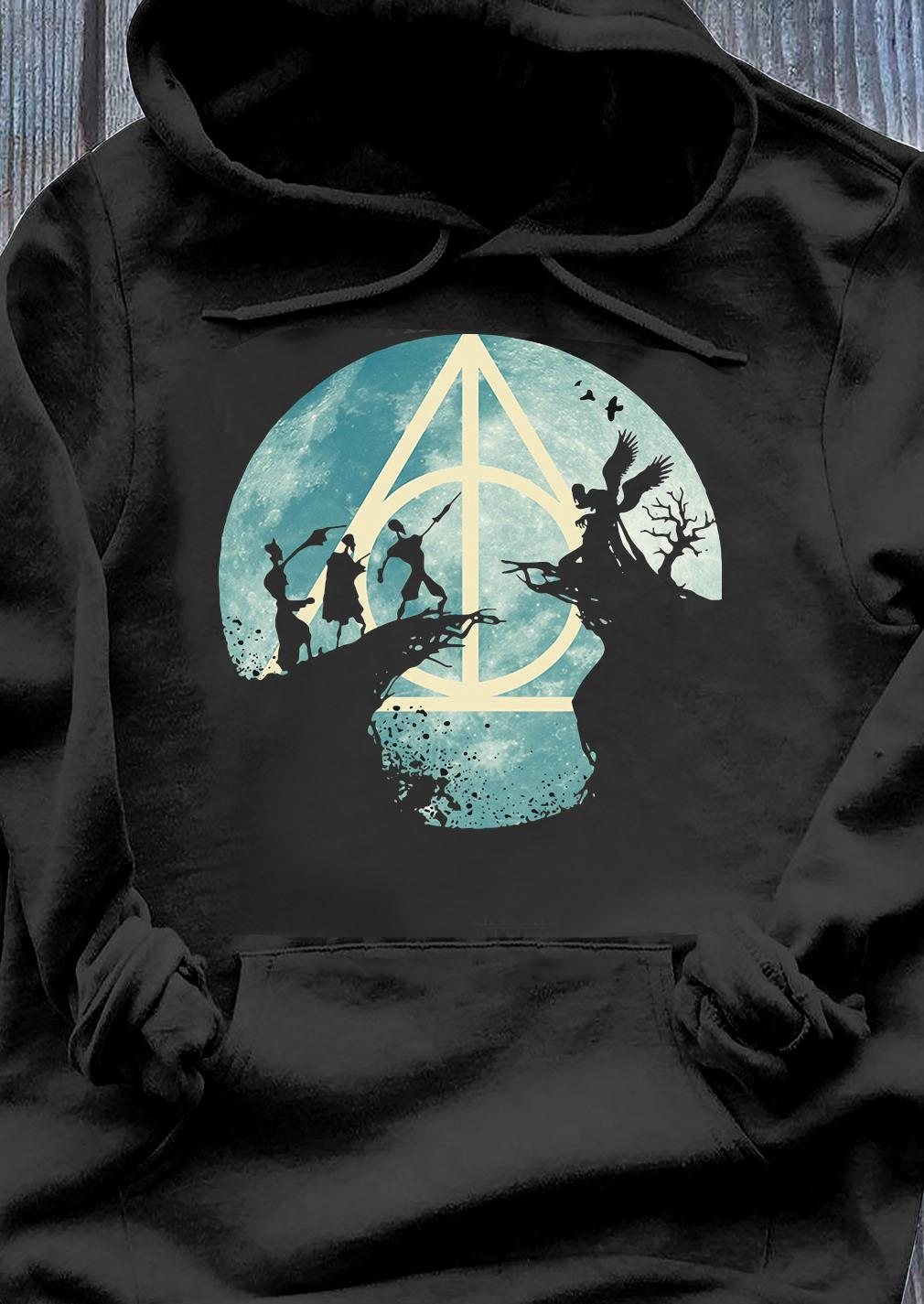 The Tale Of The Three Brothers Deathly Hallows Harry Potter Shirt Hoodie