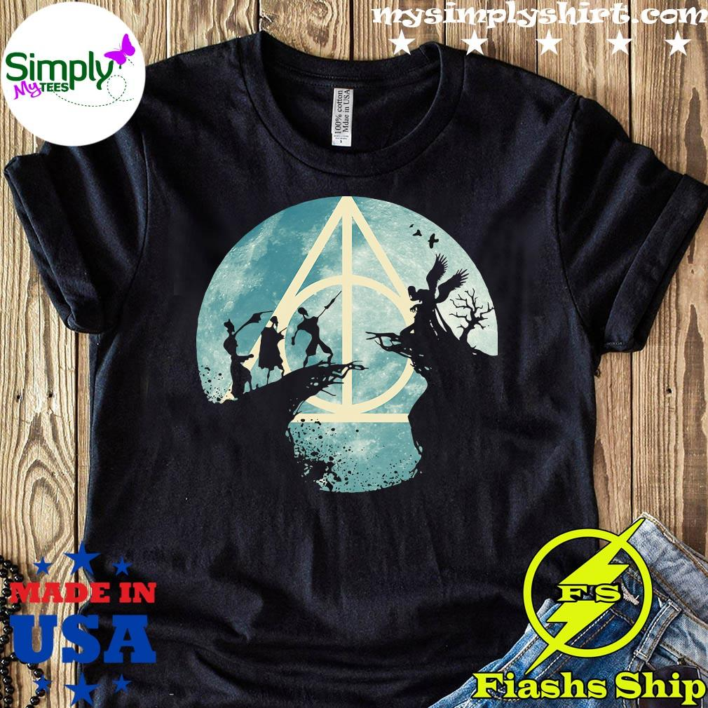 The Tale Of The Three Brothers Deathly Hallows Harry Potter Shirt