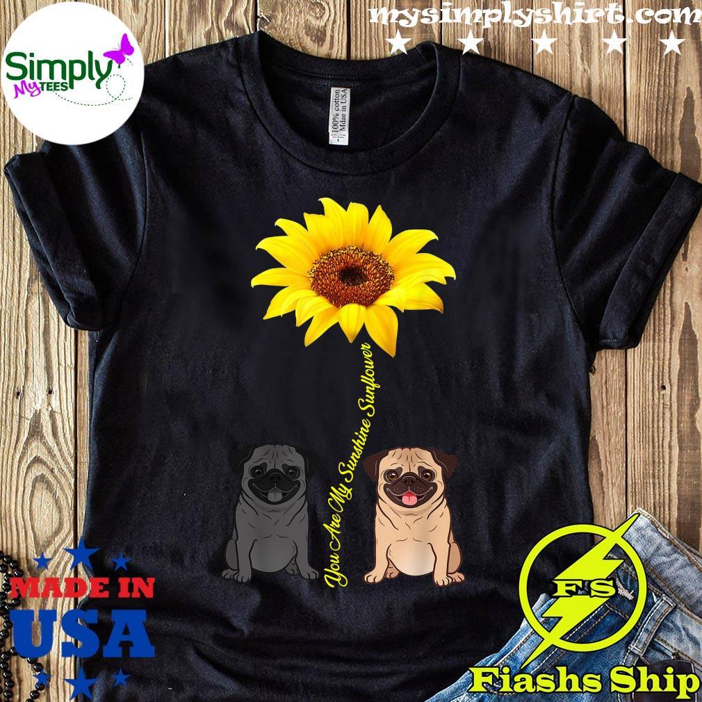 You Are My Sunshine Sunflower Shirt