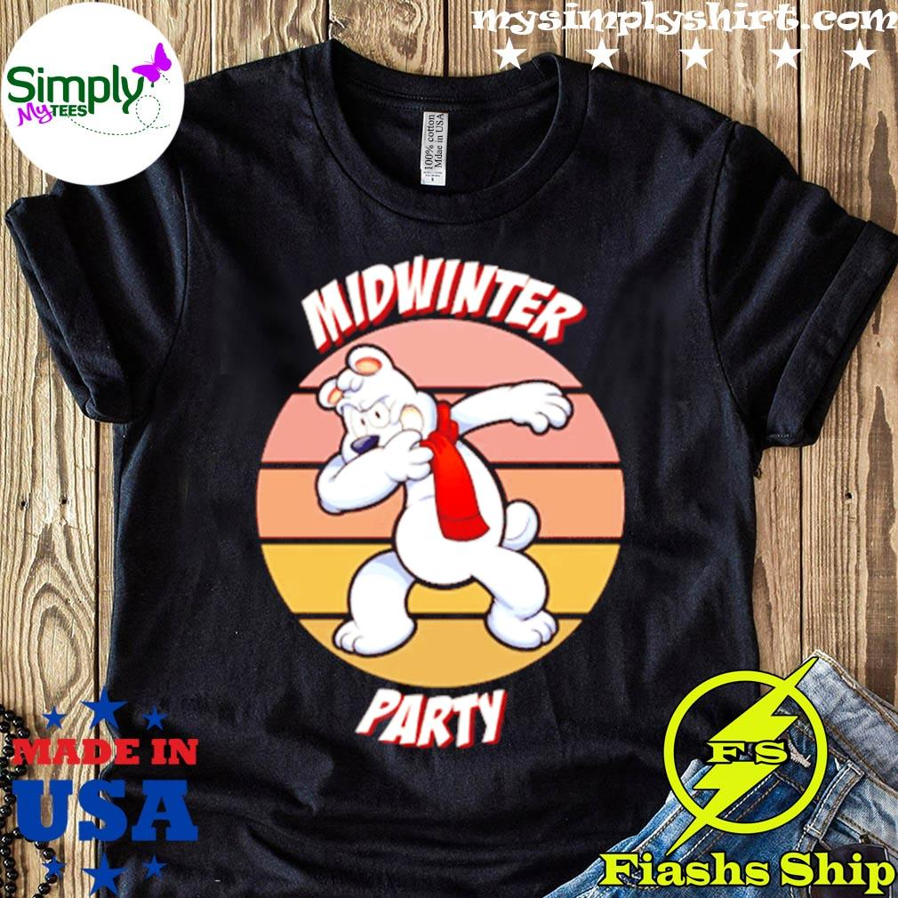 Dabbing Midwinter Party Vintage Shirt