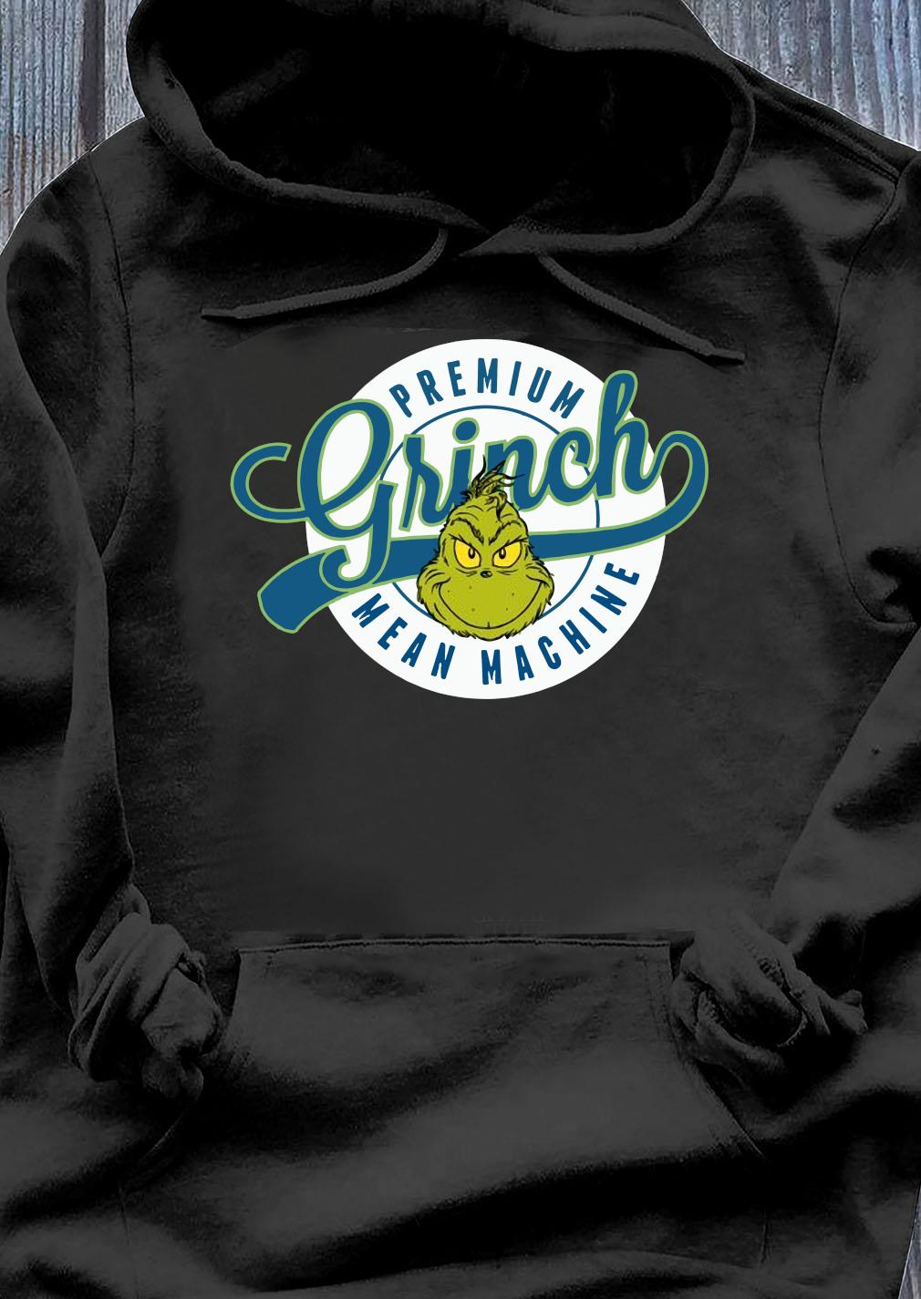 Dr. Seuss Grinch Mean Machine Pullover Shirt Hoodie
