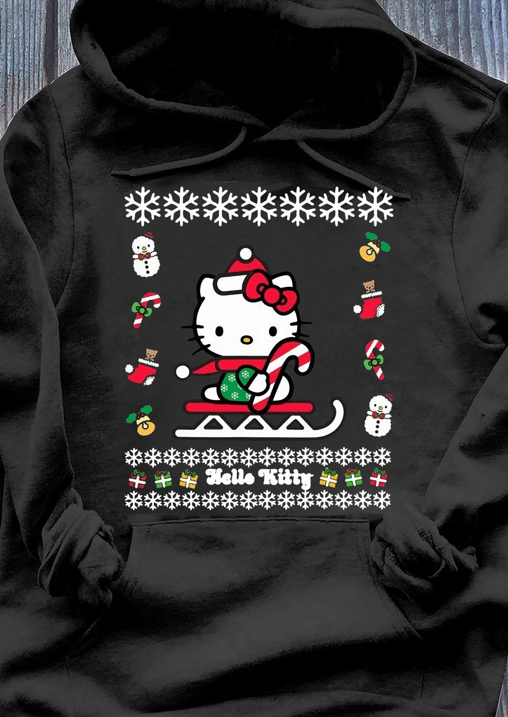 Hello Kitty Ugly Christmas Shirt Hoodie