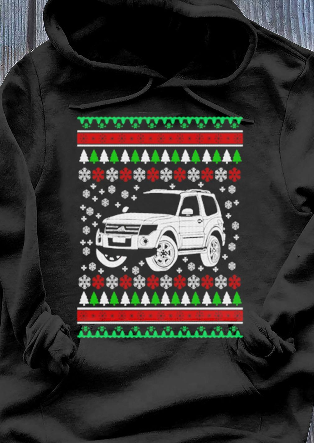 Jeep Ugly Christmas Sweater Hoodie