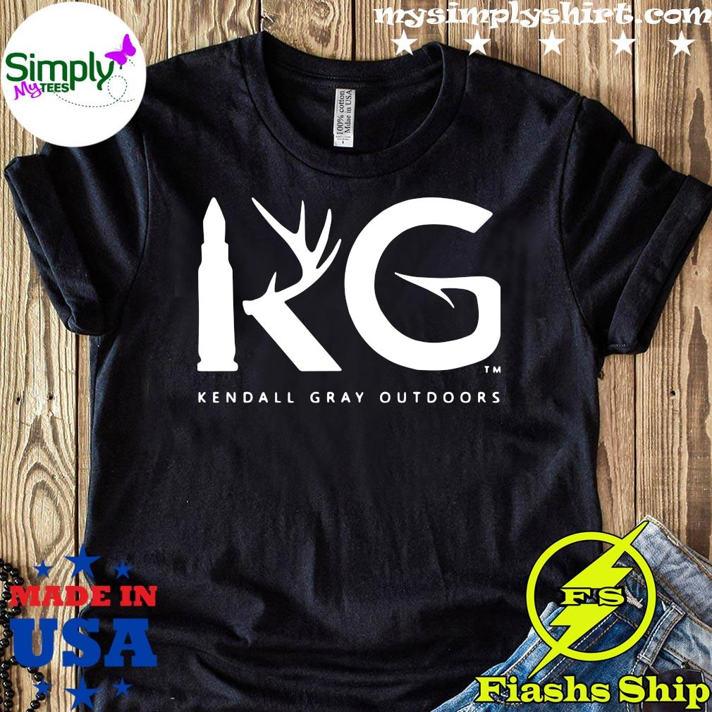 Kendall Gray Outdoors Merch Kg Shirt Hoodie Sweater And Long Sleeve