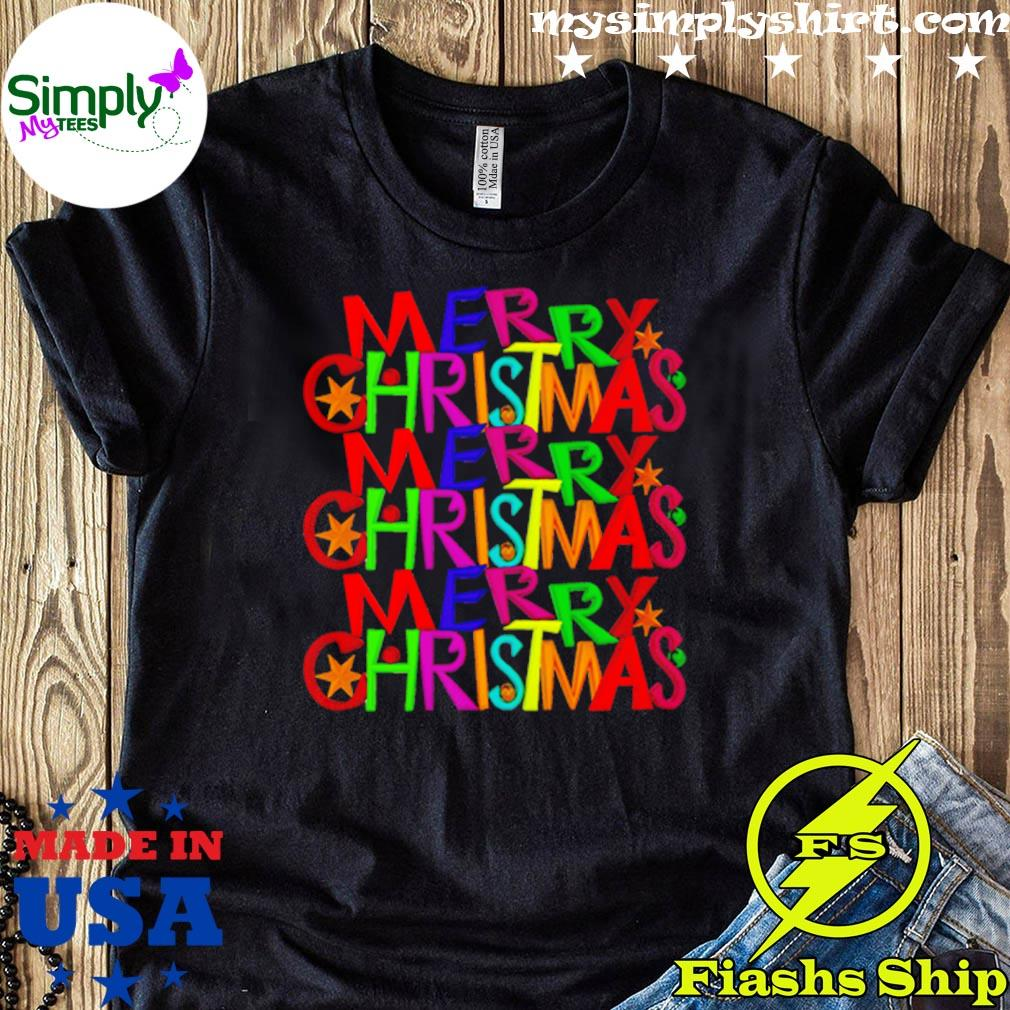 LGBT Triple Merry Christmas Shirt
