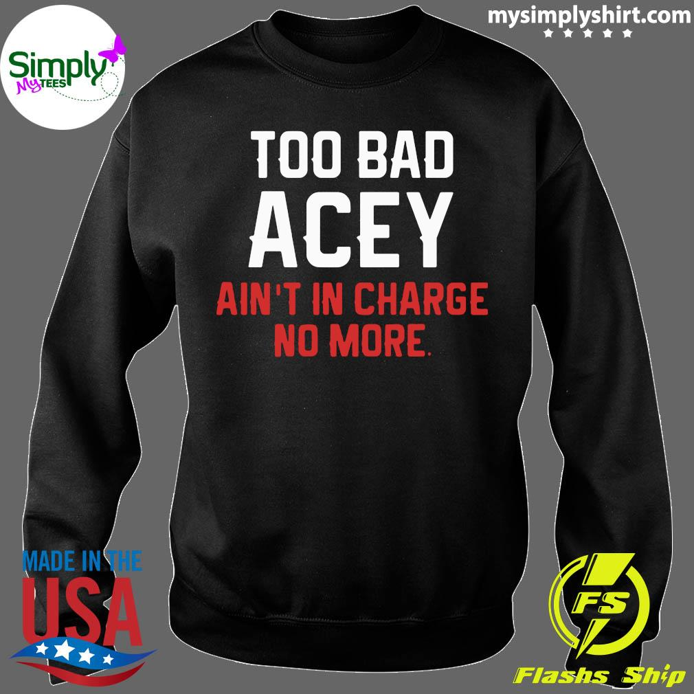 Xmas Too Bad Acey Aint In Charge No More Film Unisex Hoodie // Hooded Top