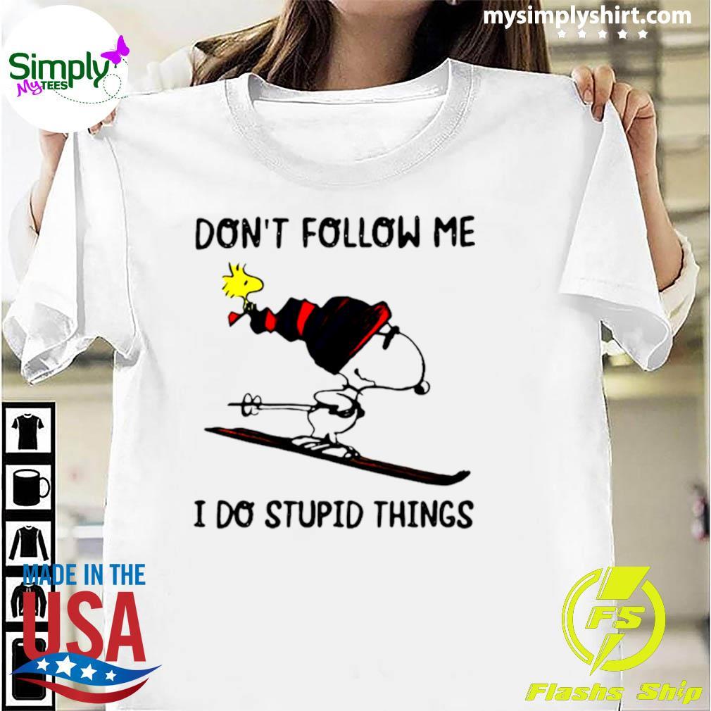Dont follow me i do stupid things - Bigfoot - Kids T