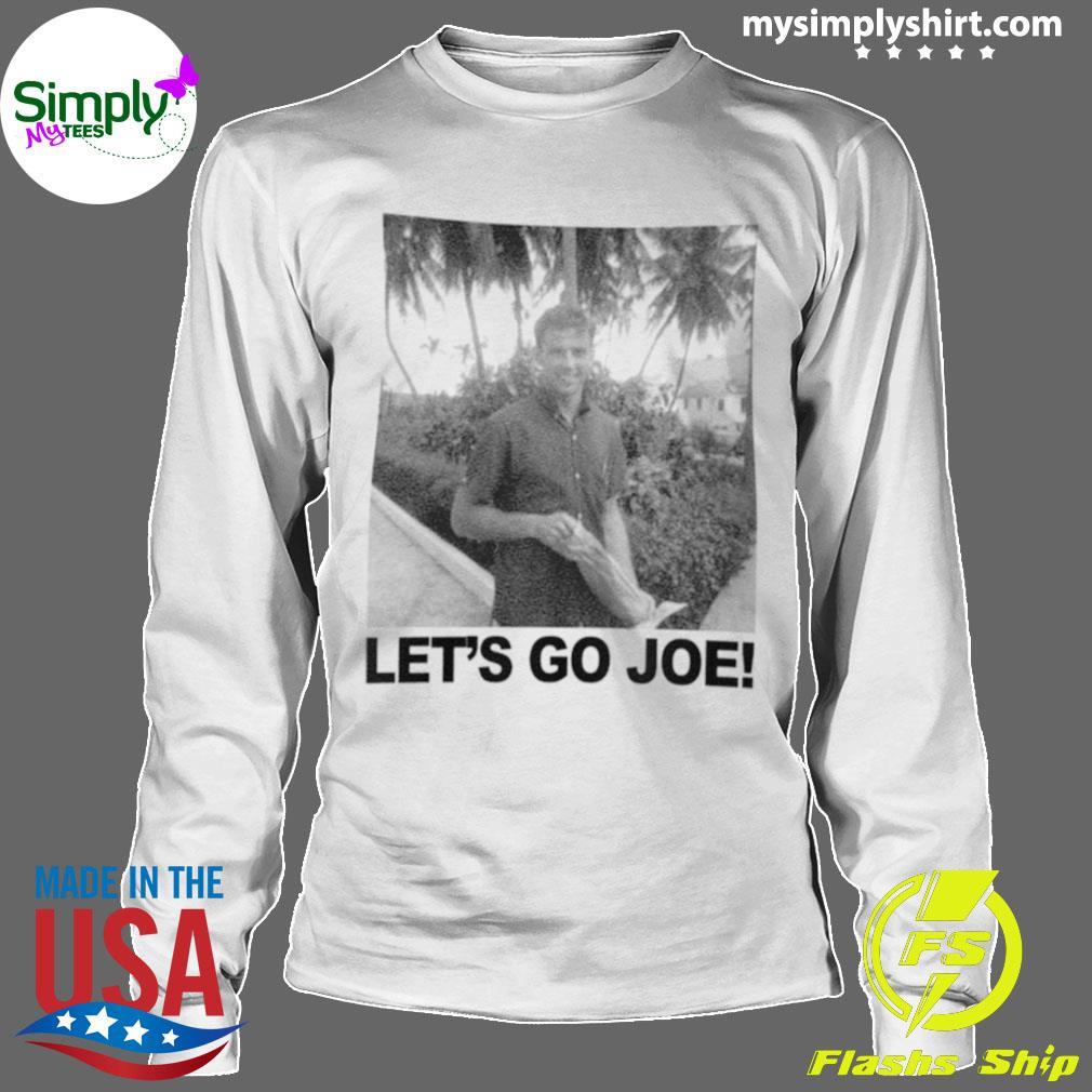 Young Joe Biden Lets Go Joe Shirt Longsleeve