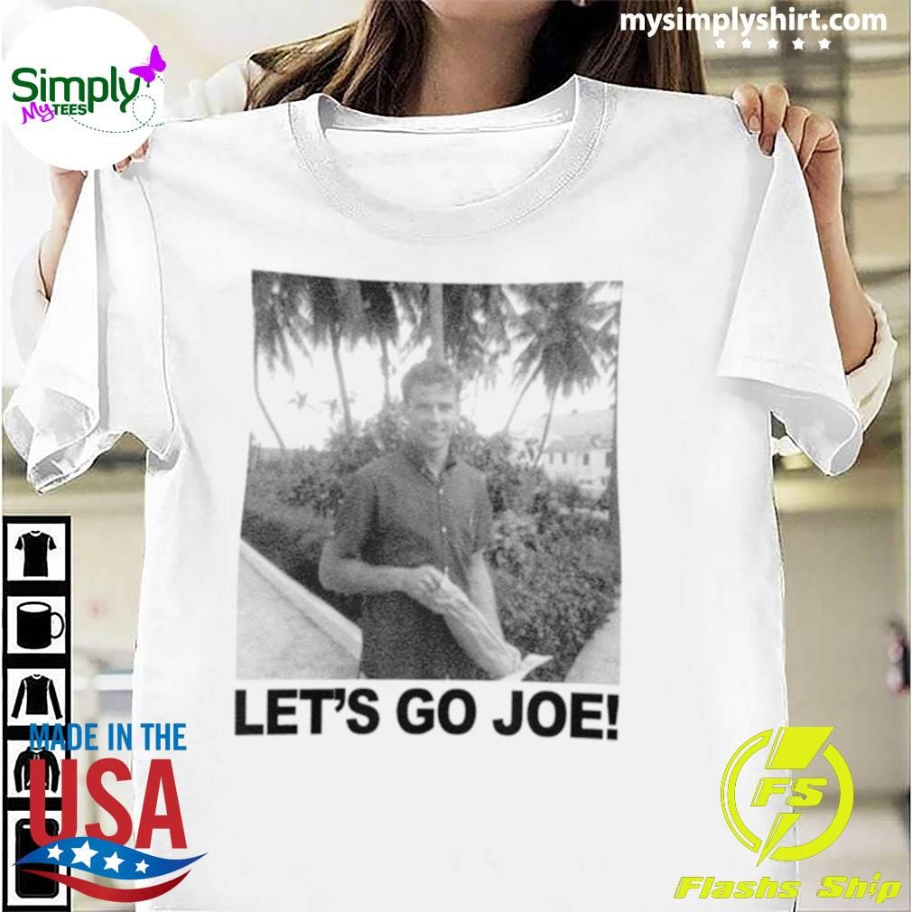 Young Joe Biden Lets Go Joe Shirt